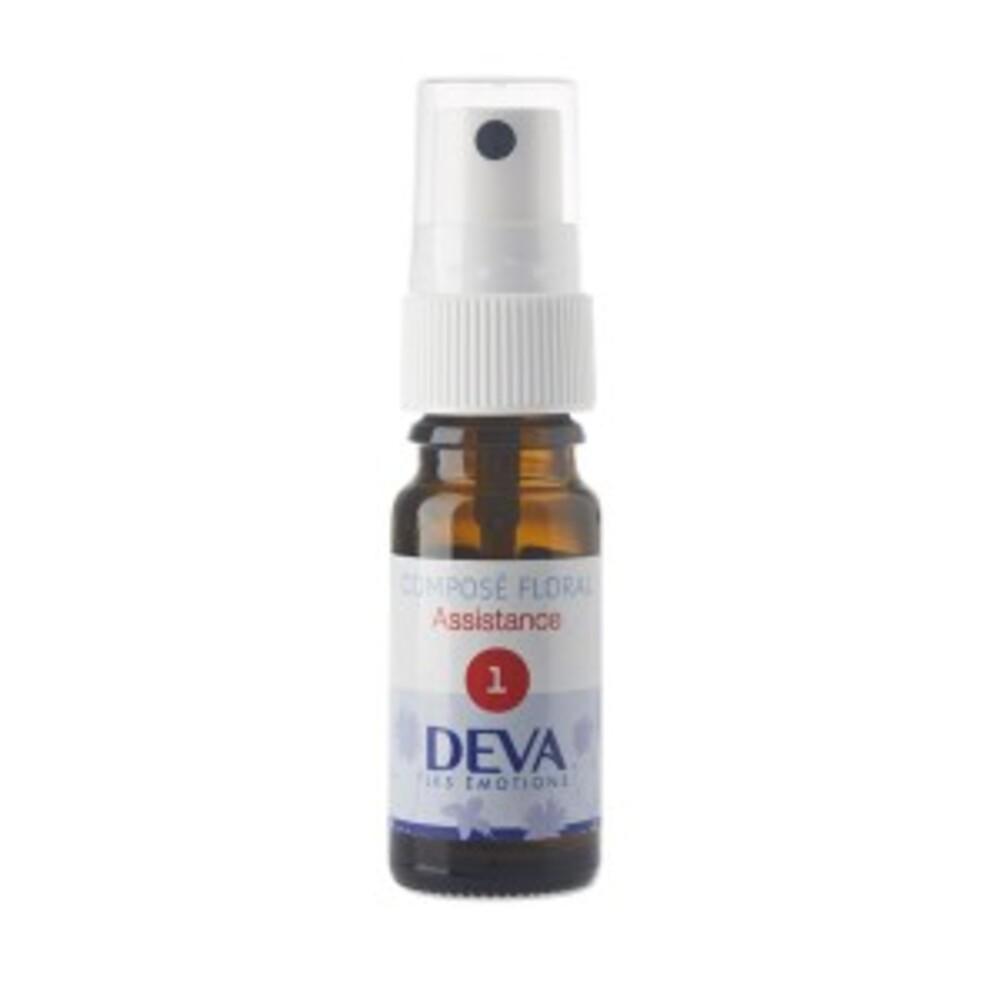 1 - Assistance bio - 10.0 ml - Complexes d'élixirs floraux bio - Deva -15776