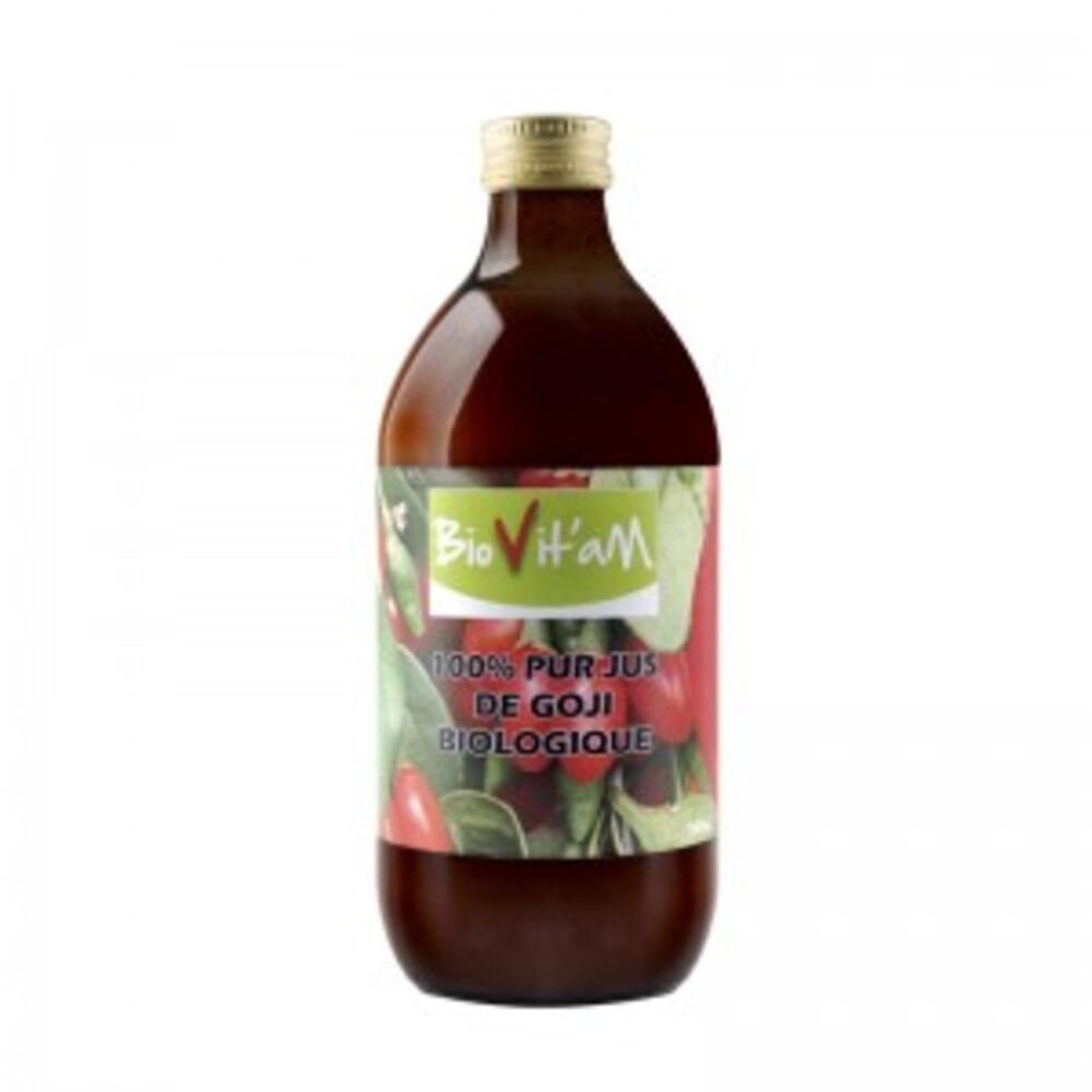 100% pur jus de goji bio - 500 ml - divers - biovita'm -188884