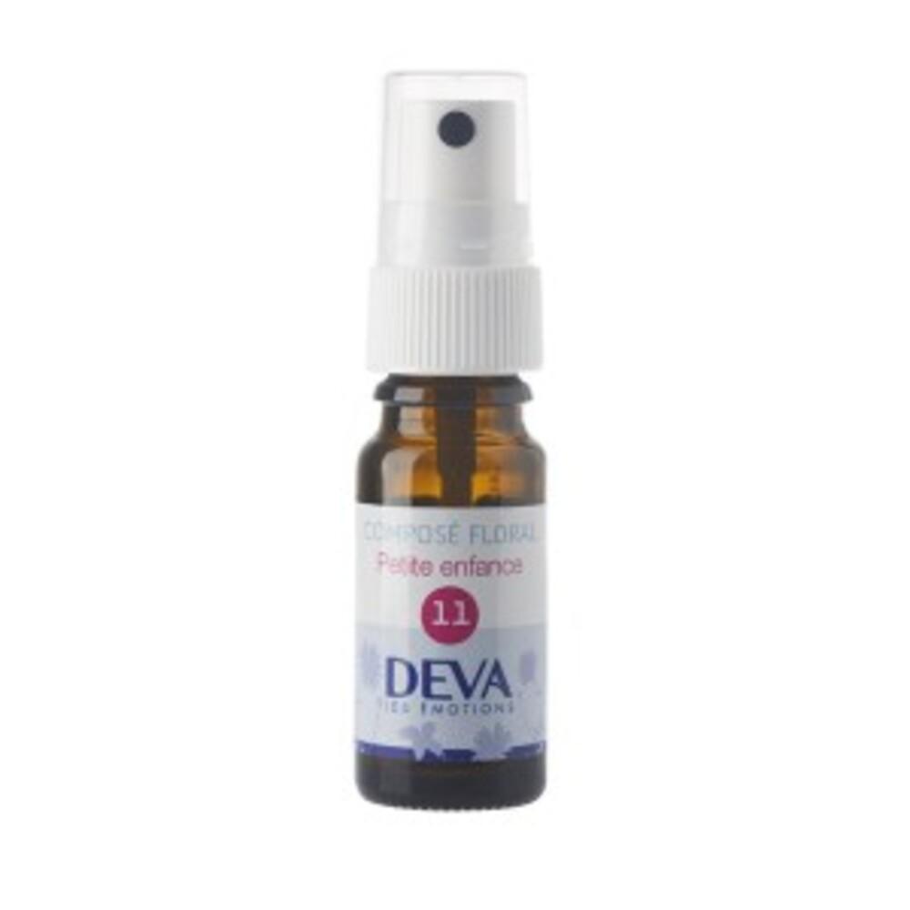 11 - Petite enfance bio - 10.0 ml - Complexes d'élixirs floraux bio - Deva -15786
