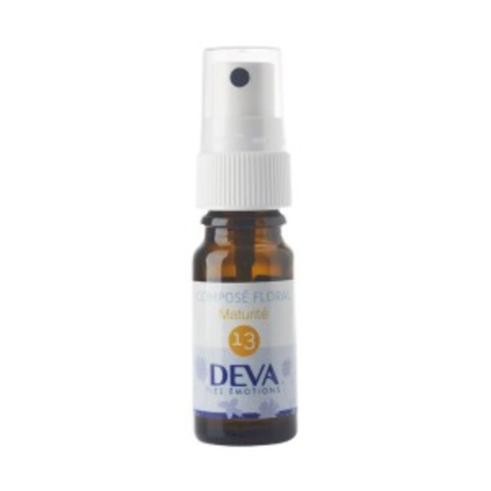 13 - Maturité bio - 10.0 ml - Complexes d'élixirs floraux bio - Deva -15788