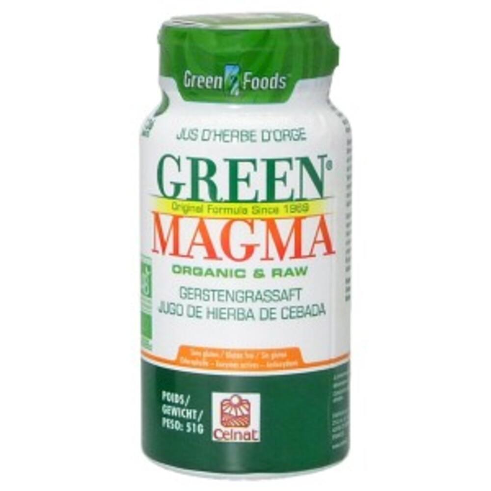 - 136.0 unites - jus d'herbe d'orge - green magma Sans gluten et sans OGM-9274