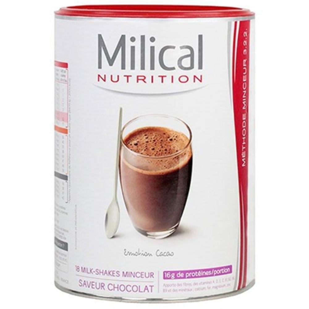 18 milk-shakes minceur chocolat - milical -196583