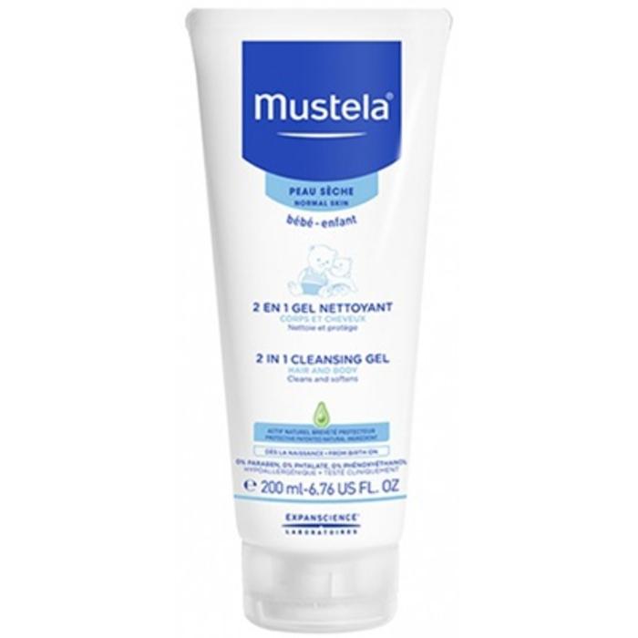2 en 1 gel nettoyant Mustela-191948