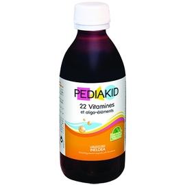 22 vitamines et oligo-éléments - 250ml - divers - pediakid -189681