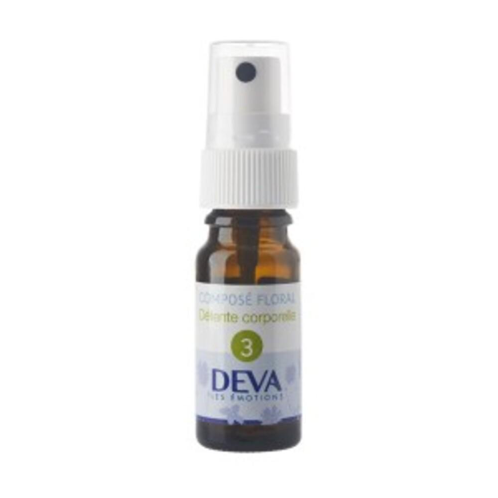 3 - Détente corporelle bio - 10.0 ml - Complexes d'élixirs floraux bio - Deva Vigueur, souplesse et aisance corporelle-15778