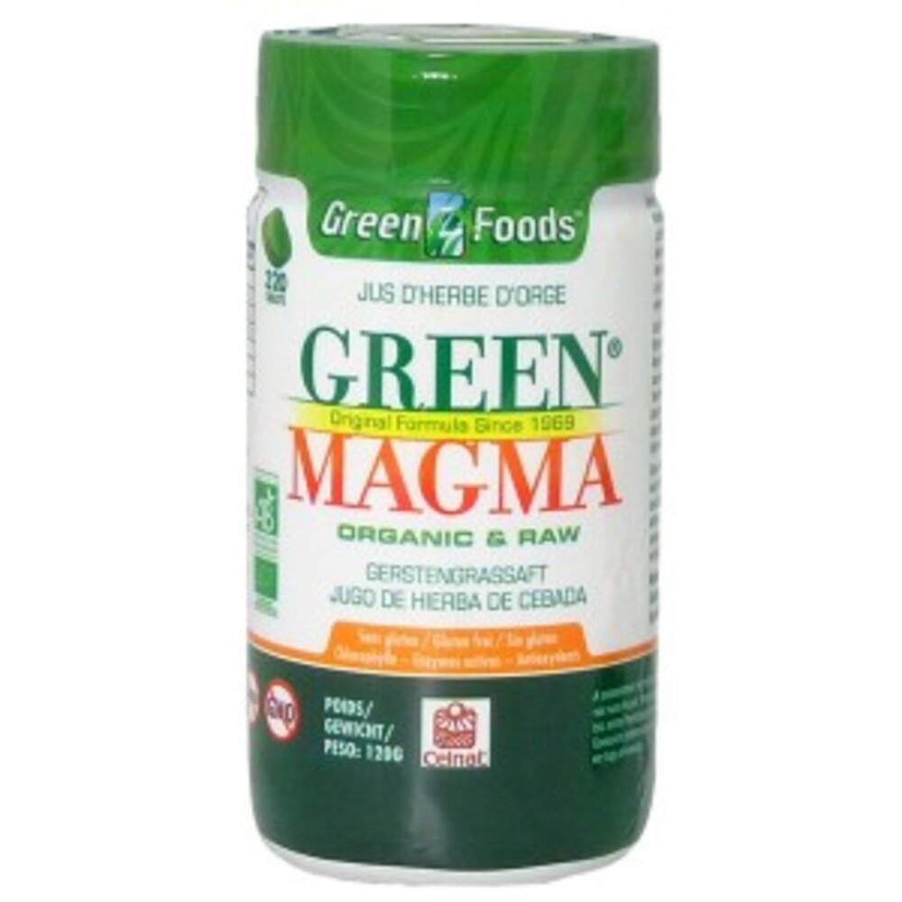- 320.0 unites - jus d'herbe d'orge - green magma Sans gluten et sans OGM-9273