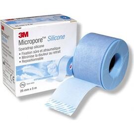 3m micropore sparadrap silicone - 25mm x 5m - 3m -148698