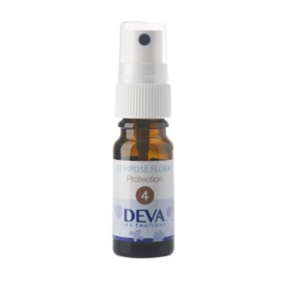 4 - Protection bio - 10.0 ml - Complexes d'élixirs floraux bio - Deva Force, ouverture aux autres et sensibilité équilibrée-15779