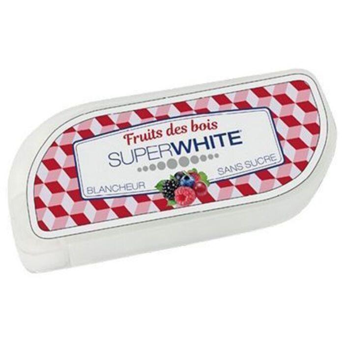 50 pastilles fraîcheur fruits des bois Superwhite-219614