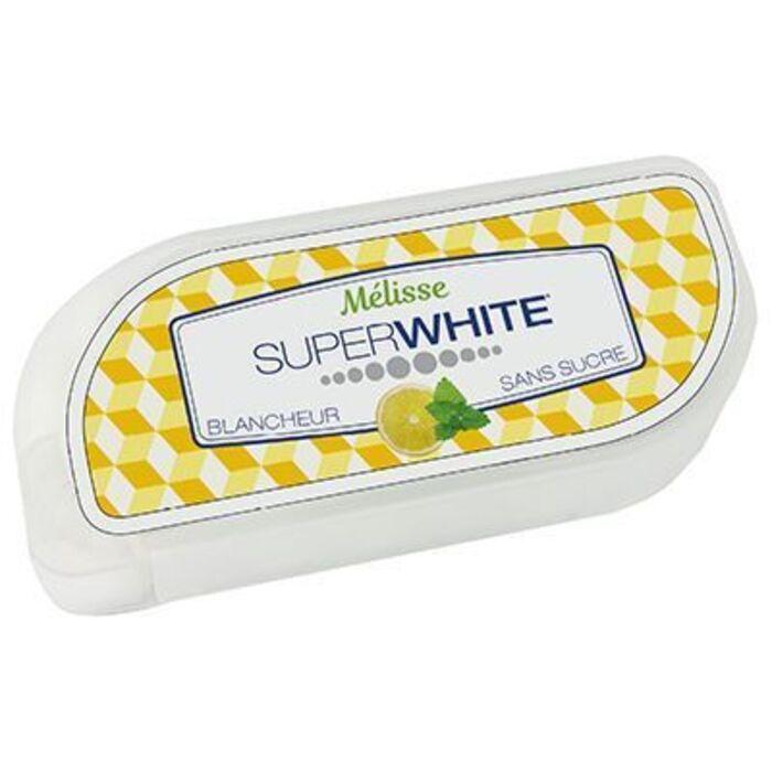 50 pastilles fraîcheur mélisse Superwhite-219615