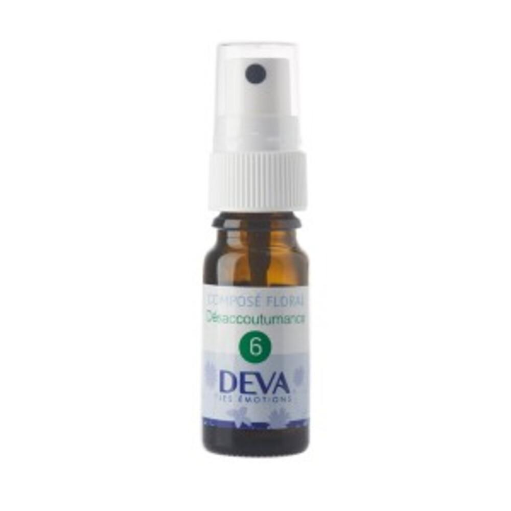 6 - Désaccoutumance bio - 10.0 ml - Complexes d'élixirs floraux bio - Deva -15781