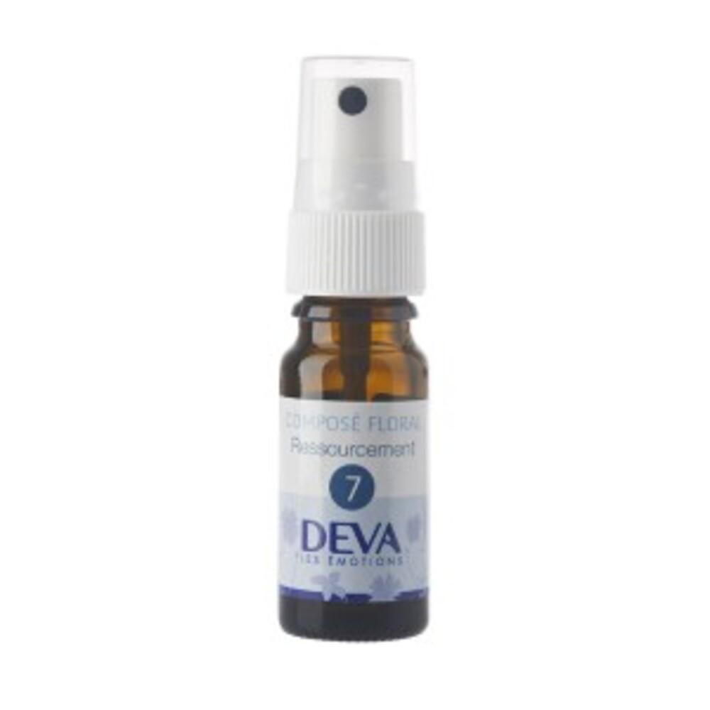 7 - Ressourcement bio - 10.0 ml - Complexes d'élixirs floraux bio - Deva -15782