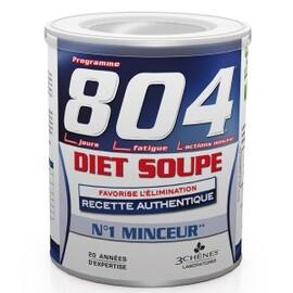 804 soupe minceur et forme - 300.0 g - gamme 804 - les 3 chênes -136768