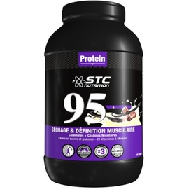 95 protein vanille - 2,25kg - stc nutrition -200001