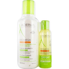 A-derma exomega control baume emollient 400ml + huile lavante 100ml offerte - aderma -226299