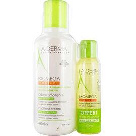 A-derma exomega control crème emolliente 400ml + huile lavante 100ml offerte - aderma -222548