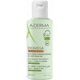 A-derma exomega control gel lavant emollient 200ml - 200.0 ml - aderma -222550