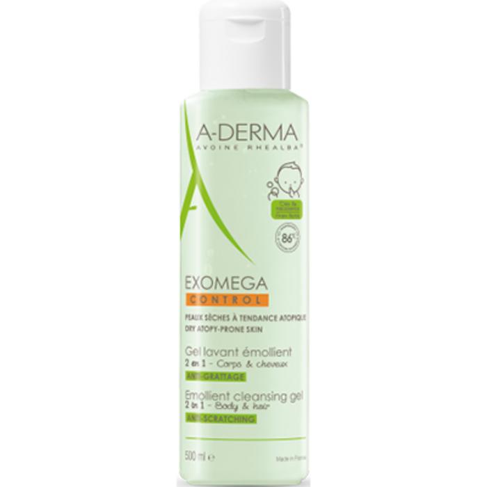 A-derma exomega control gel lavant emollient Aderma-222549