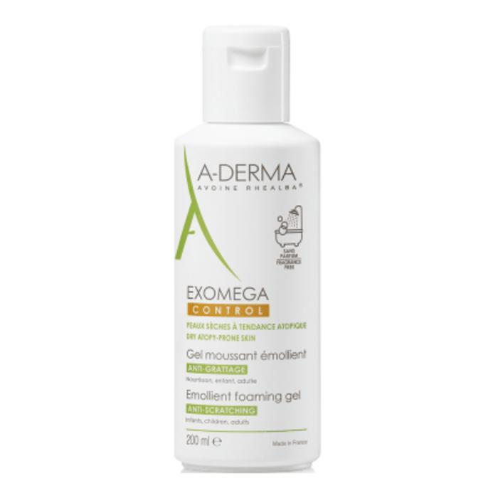 A-derma exomega control gel moussant emollient 200ml Aderma-222547