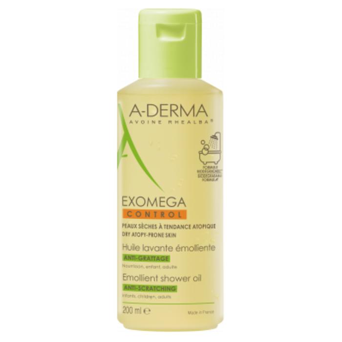 A-derma exomega control huile lavante emolliente 200ml Aderma-222544