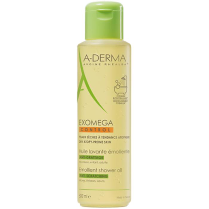 A-derma exomega control huile lavante emolliente Aderma-222545