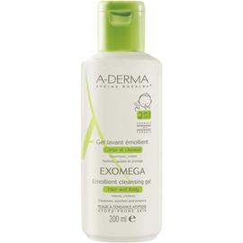 A-derma gel lavant emollient corps et cheveux - 200ml - aderma -206605
