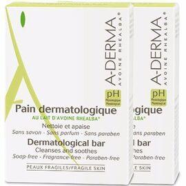 A-derma pain dermatologique lot de 2x100g - aderma -119789