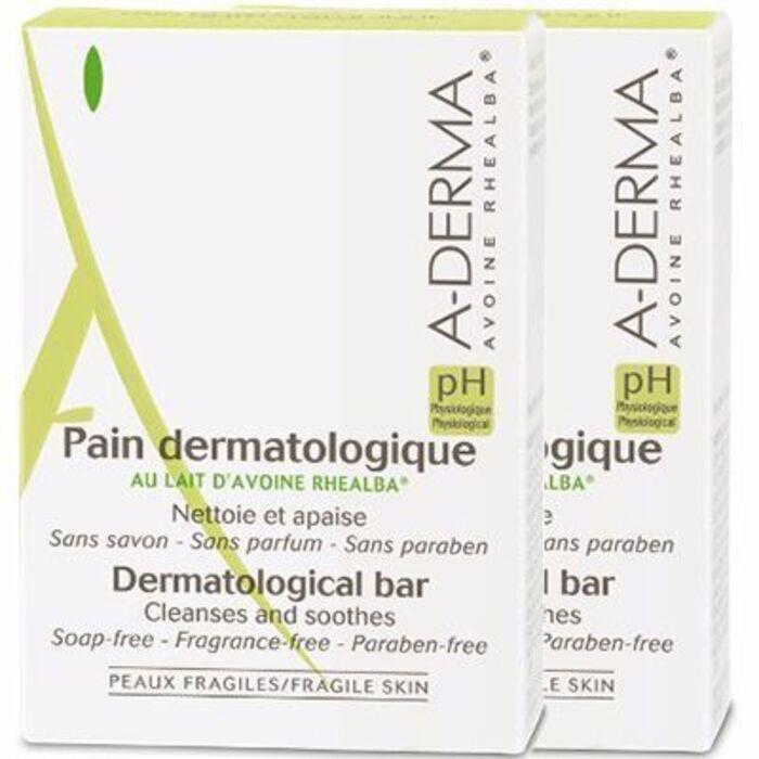 A-derma pain dermatologique lot de 2x100g Aderma-119789