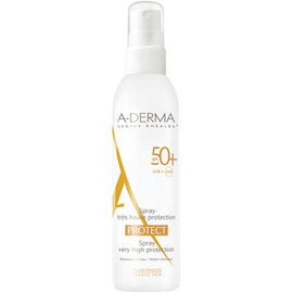 A-derma protect spray spf50+ 200ml - 200.0 ml - aderma -207323