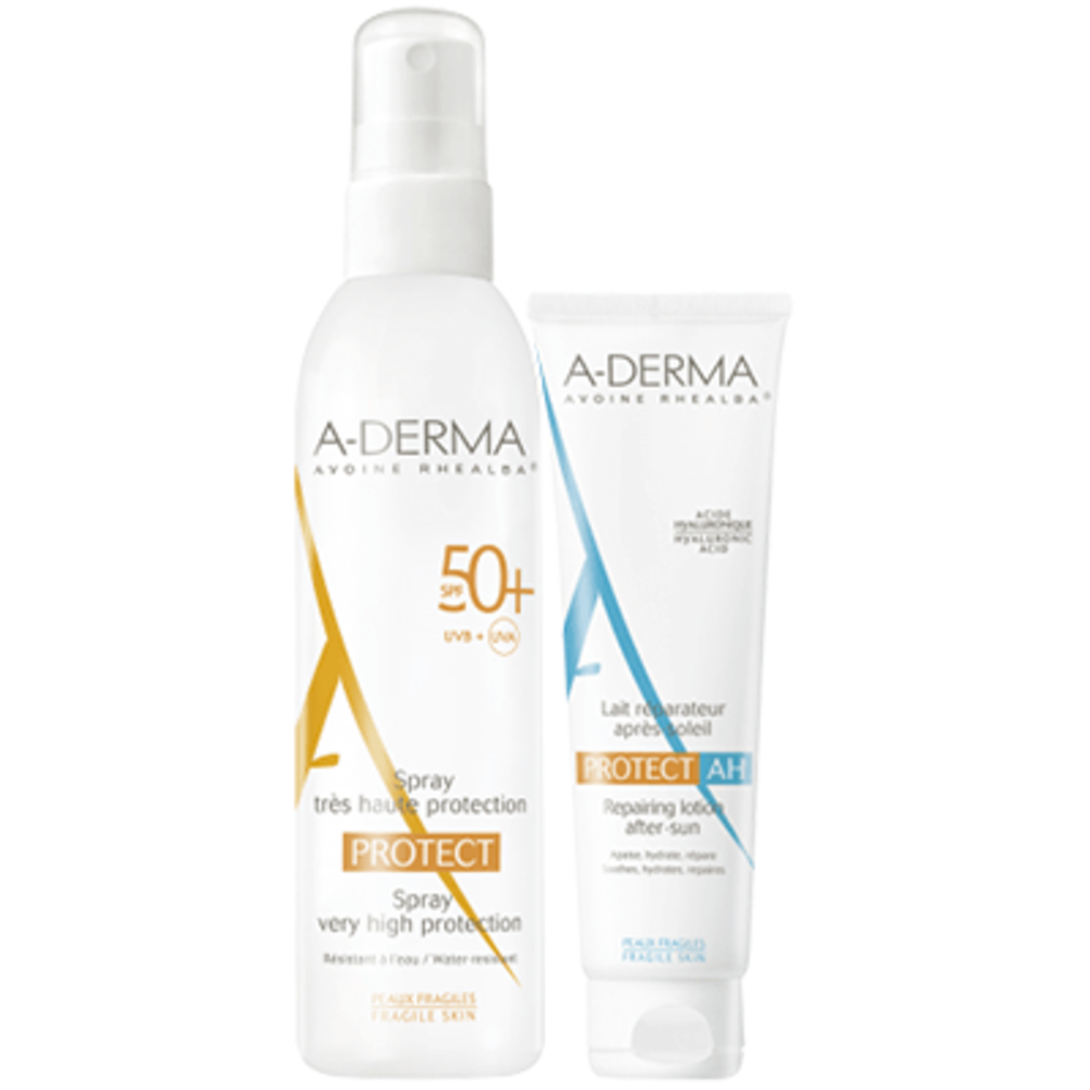 A-DERMA Protect Spray SPF50+ 200ml + Lait après-Soleil OFFERT - A Derma -221028