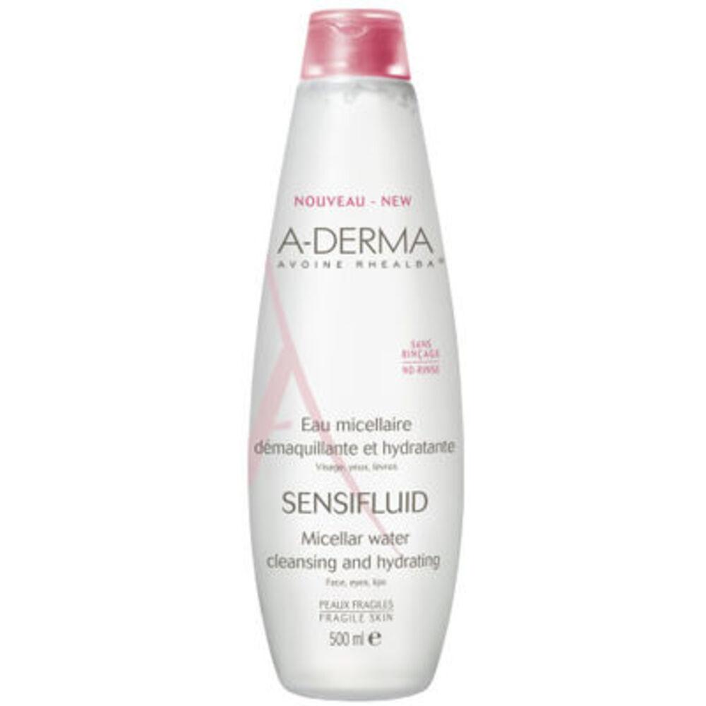A-derma sensifluid eau micellaire - 500ml - aderma -119472