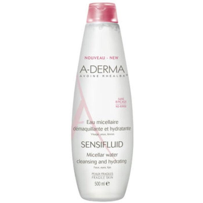 A-derma sensifluid eau micellaire - 500ml Aderma-119472