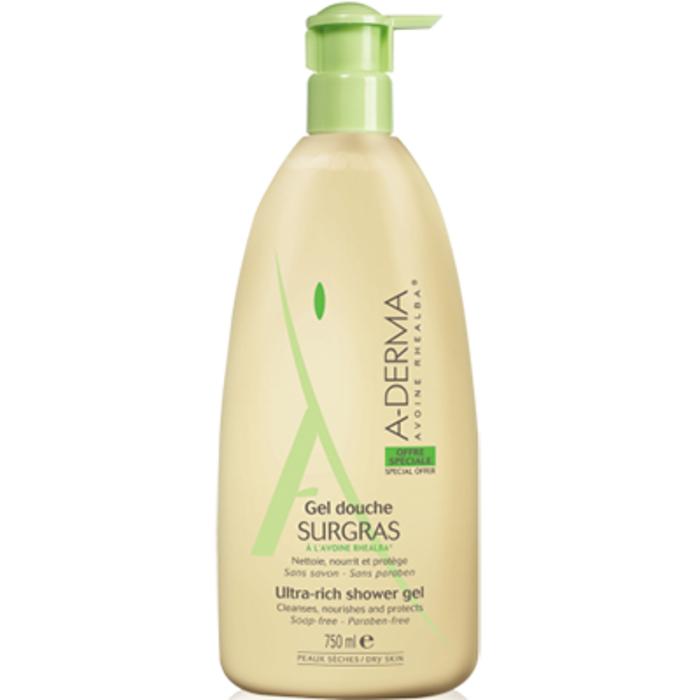 A-derma sensifluid gel douche surgras Aderma-144587