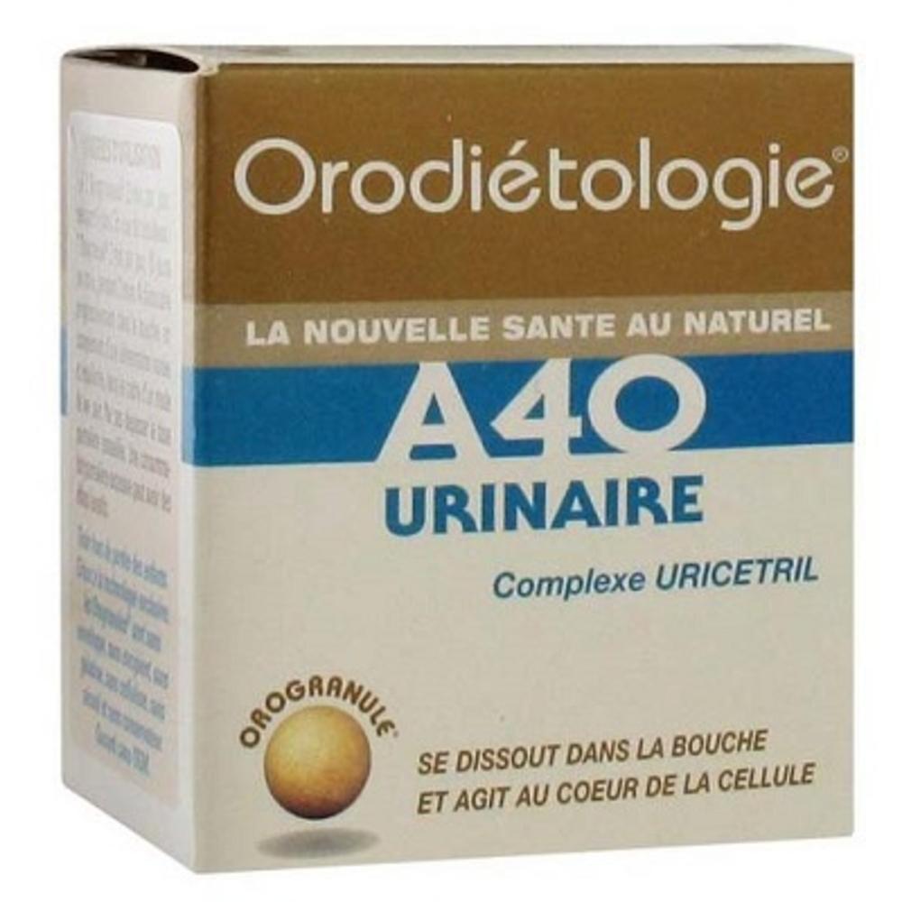 A40 URINAIRE 40 Orogranules - Zannini -197601