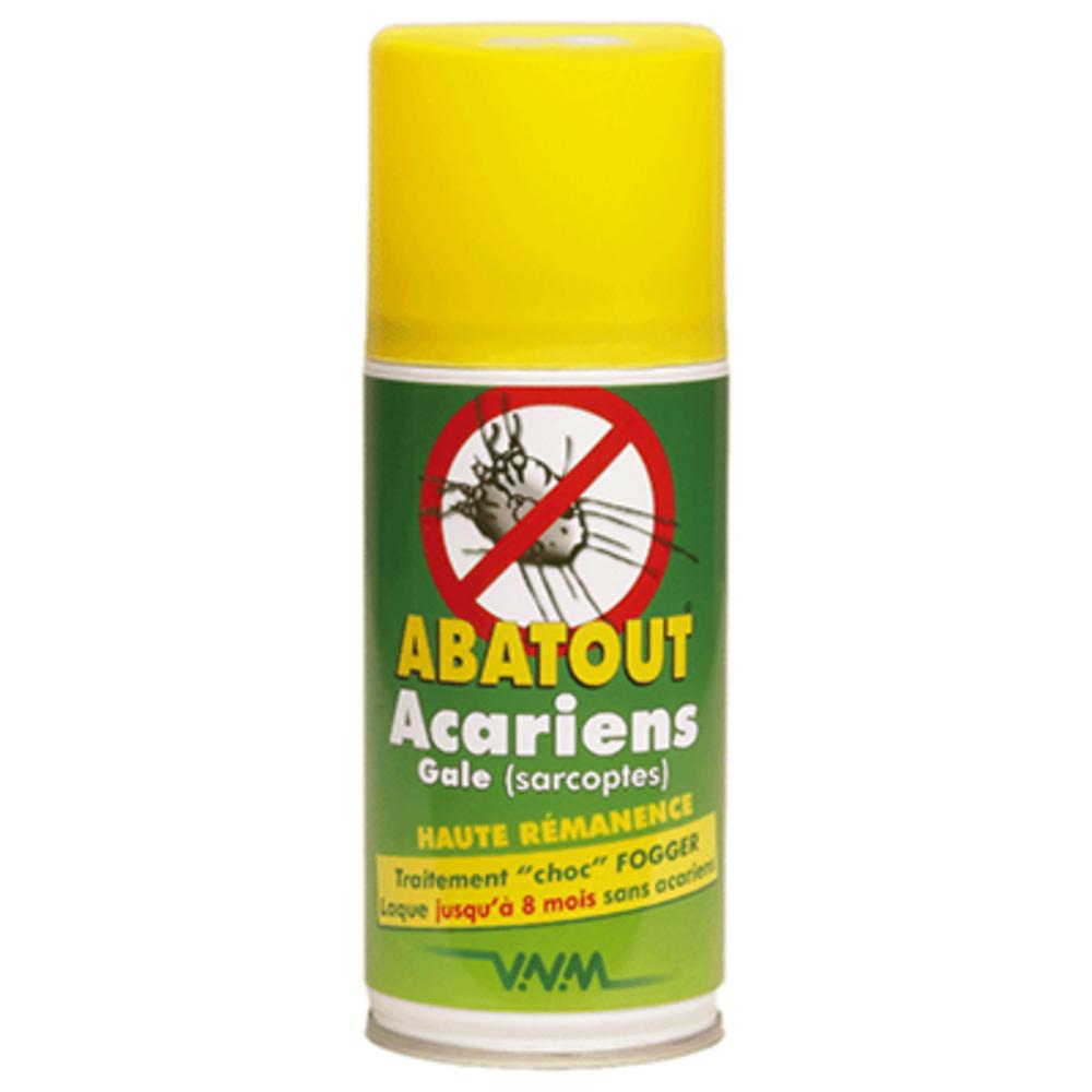 Abatout fogger laque anti-acariens & gale 210ml - abatout -221484