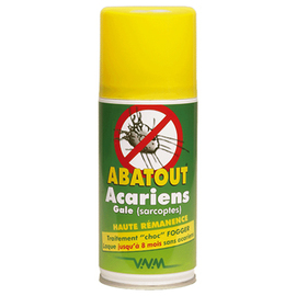 Abatout fogger laque anti-acariens & gale 210ml - abatout -221484