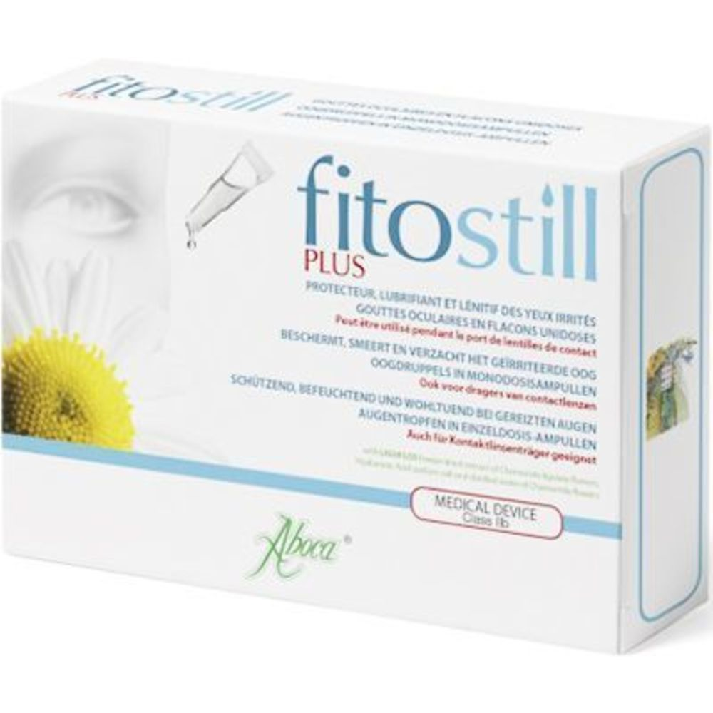 Aboca fitostill plus 10 flacons unidoses - aboca -223207