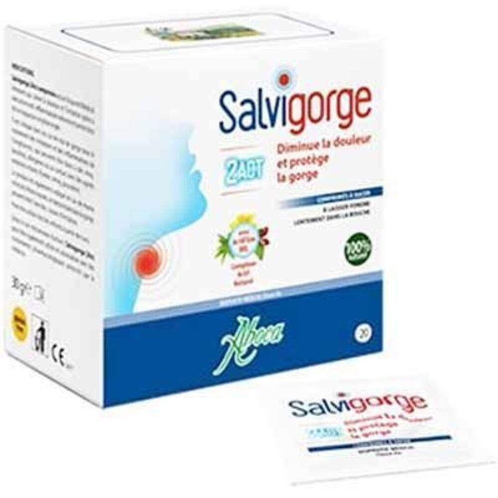 Aboca salvigorge 2act 20 comprimés - aboca -223505