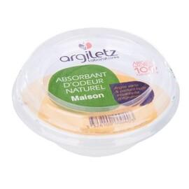 Absorbant d'odeur naturel maison agrumes - 115.0 g - maison - argiletz Maison - Parfum huile essentielle d'agrumes-133507