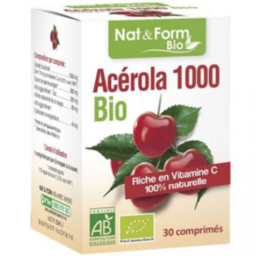 Acérola 1000 bio - nat & form -199305