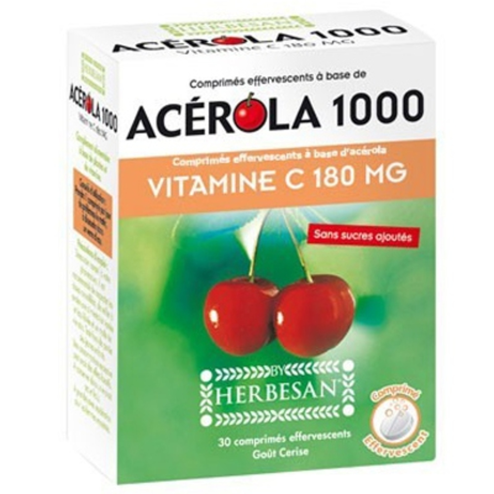 Acérola 1000 - Effervescent - Herbesan -198957