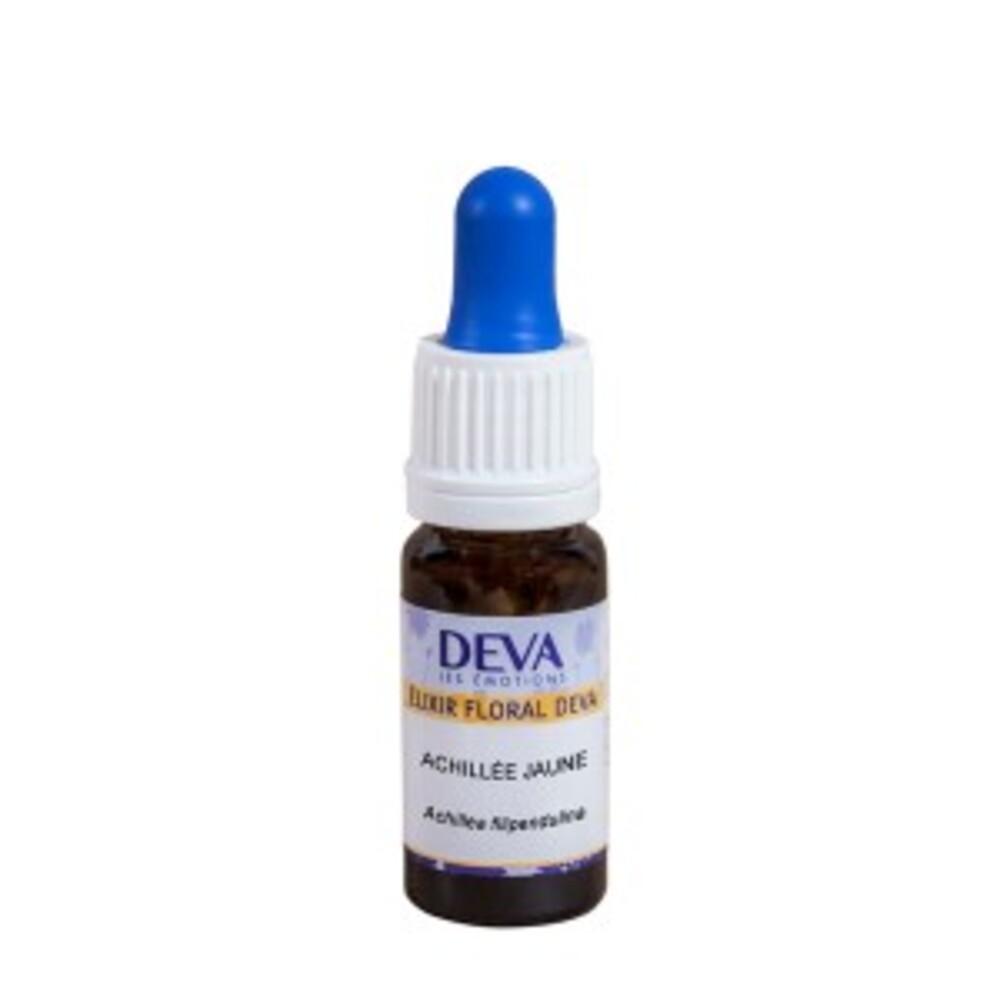 Achillée jaune bio - 10.0 ml - elixirs floraux deva bio - deva Ouverture, protection-15681