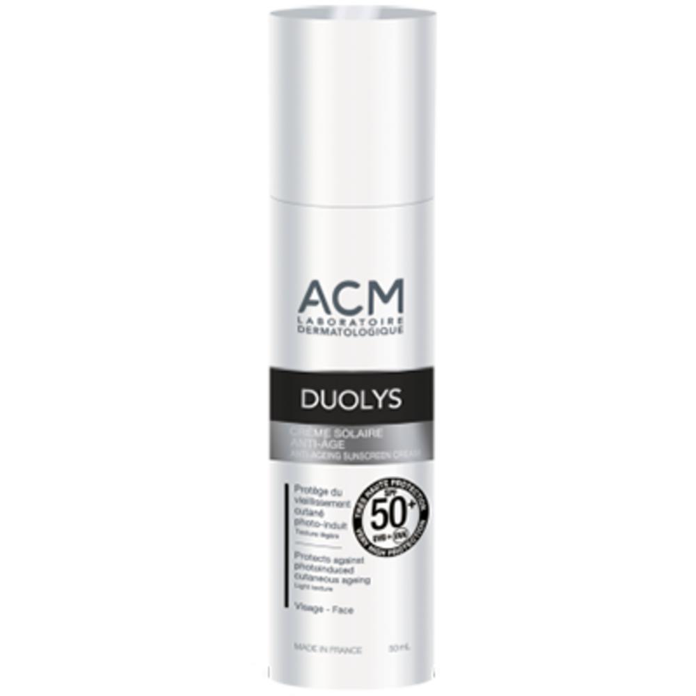 Acm duolys crème solaire anti-âge spf50+ 50ml - 50.0 ml - acm -201093