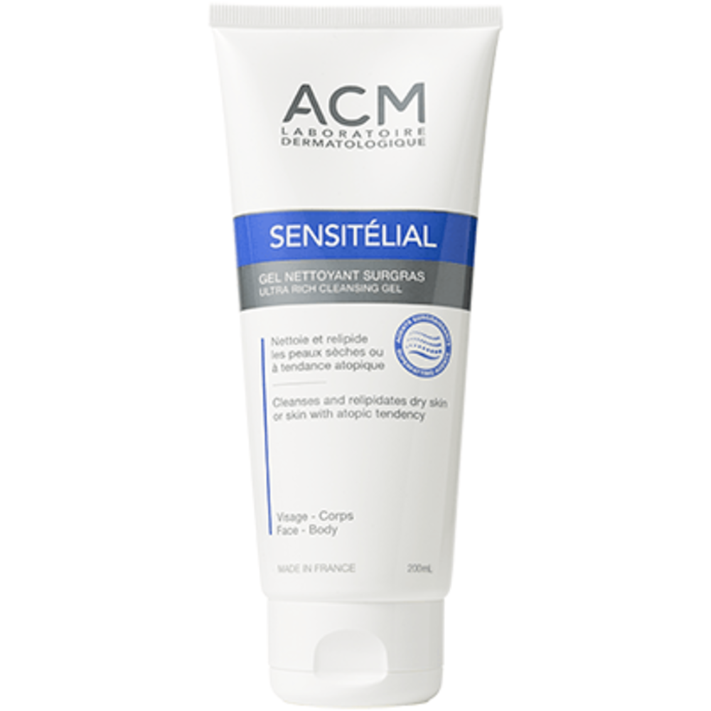 Acm sensitélial gel nettotyant surgras 200ml - acm -220321