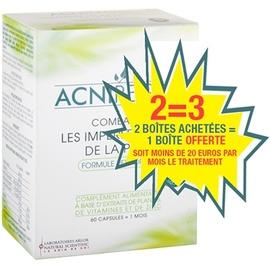 Acniregul traitement 3 mois - 3x60 gélules - arlor -216888