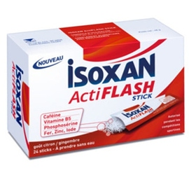 Actiflash - 24 sticks citron - isoxan -205409