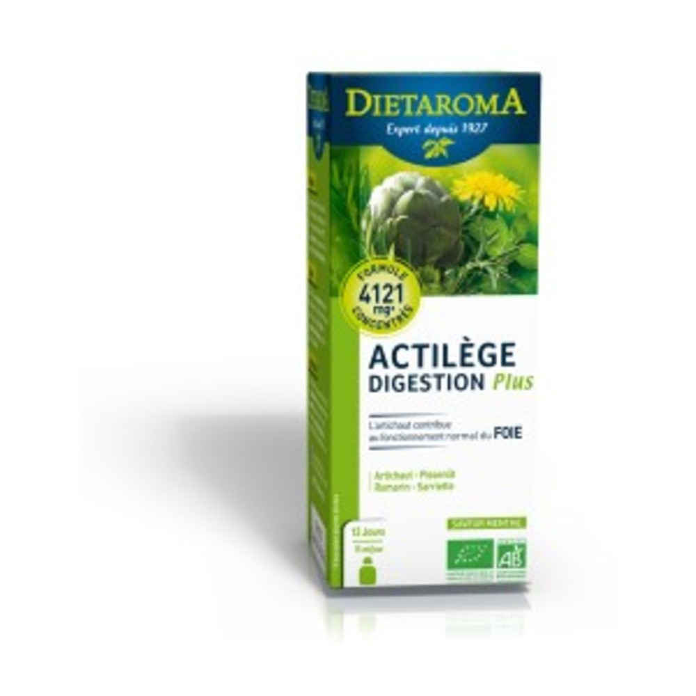 Actilège Digestion Plus BIO - flacon 200 ml - divers - Diétaroma -142036