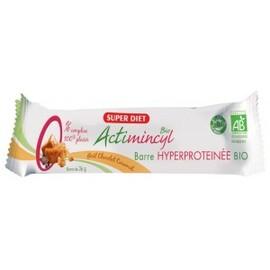 Actimincyl barres caramel - minceur - super diet -138701
