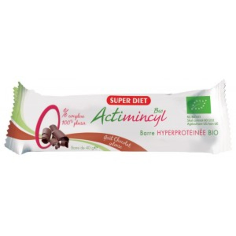 Actimincyl barres chocolat - minceur - super diet -138700