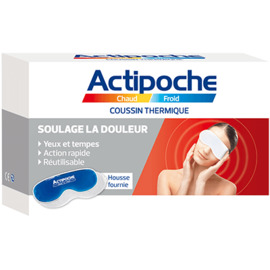 Actipoche chaud/froid yeux et tempes 24 x 8cm - cooper -212461